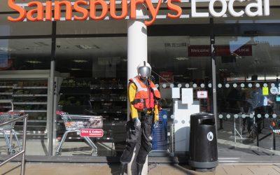 Sainsbury's Station Plaza putting *fun* into fundraising