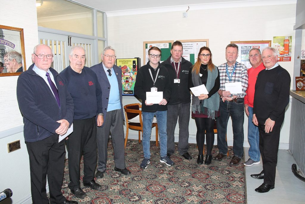 190124 Donation Presentation, Eastbourne Historic Vehicle Club