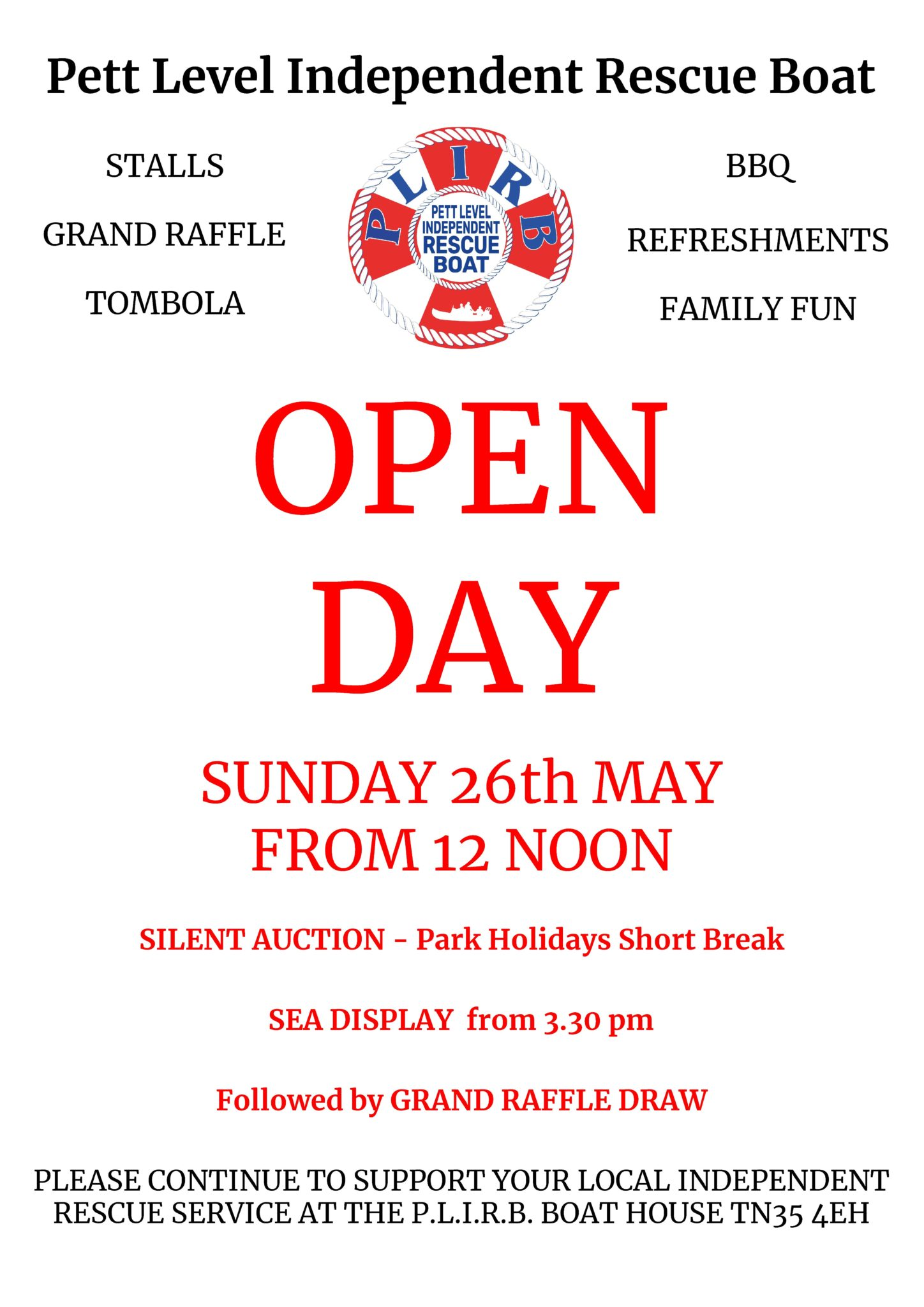Open Day 2019 – updates!