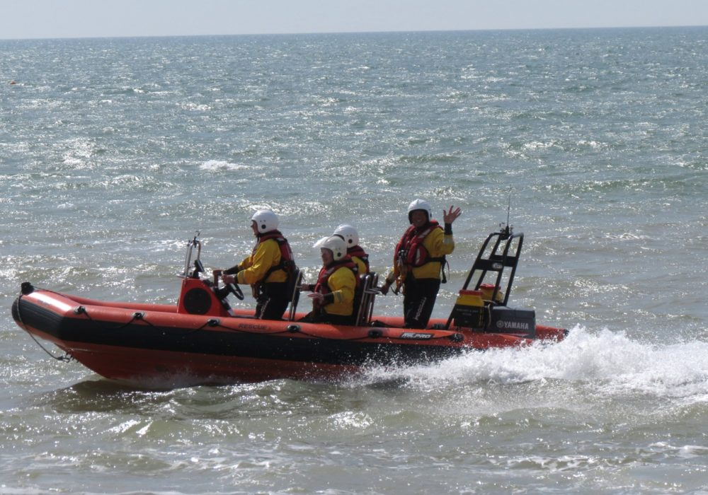 Tony Heath, equipment donation, independent rescue boat charity