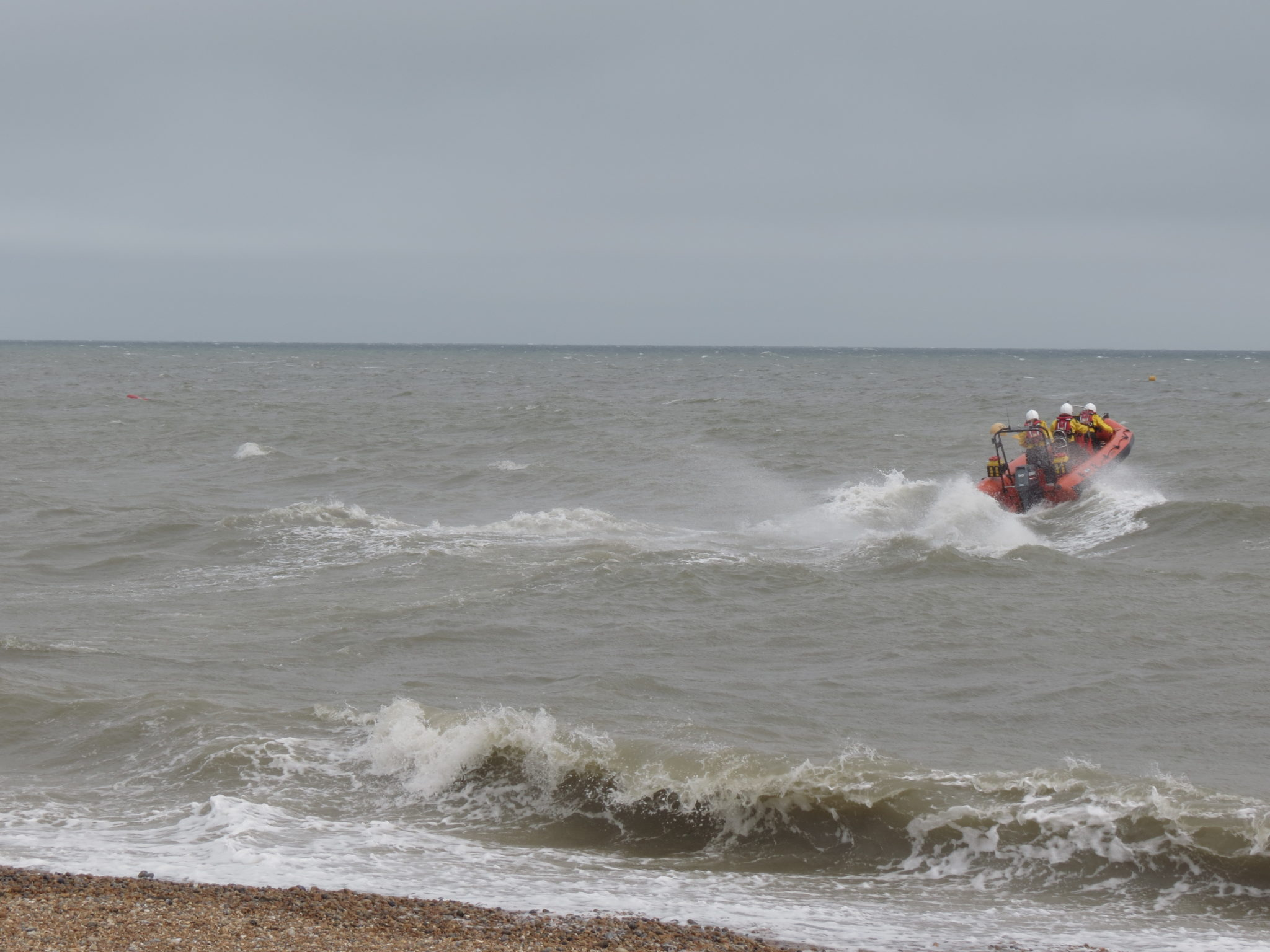 Open Day, sea display, casualty retrieval