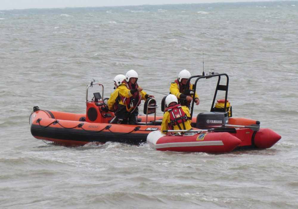 Open Day, sea display, towing & retrieval