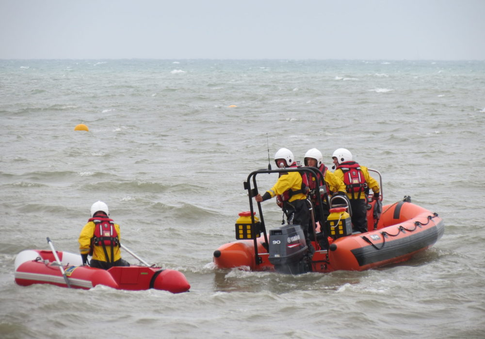 Open Day, sea display, towing, retrieval, sea safety