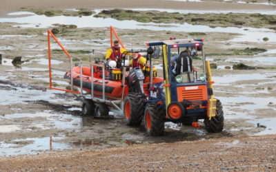 Two Rescue Launches in One Evening