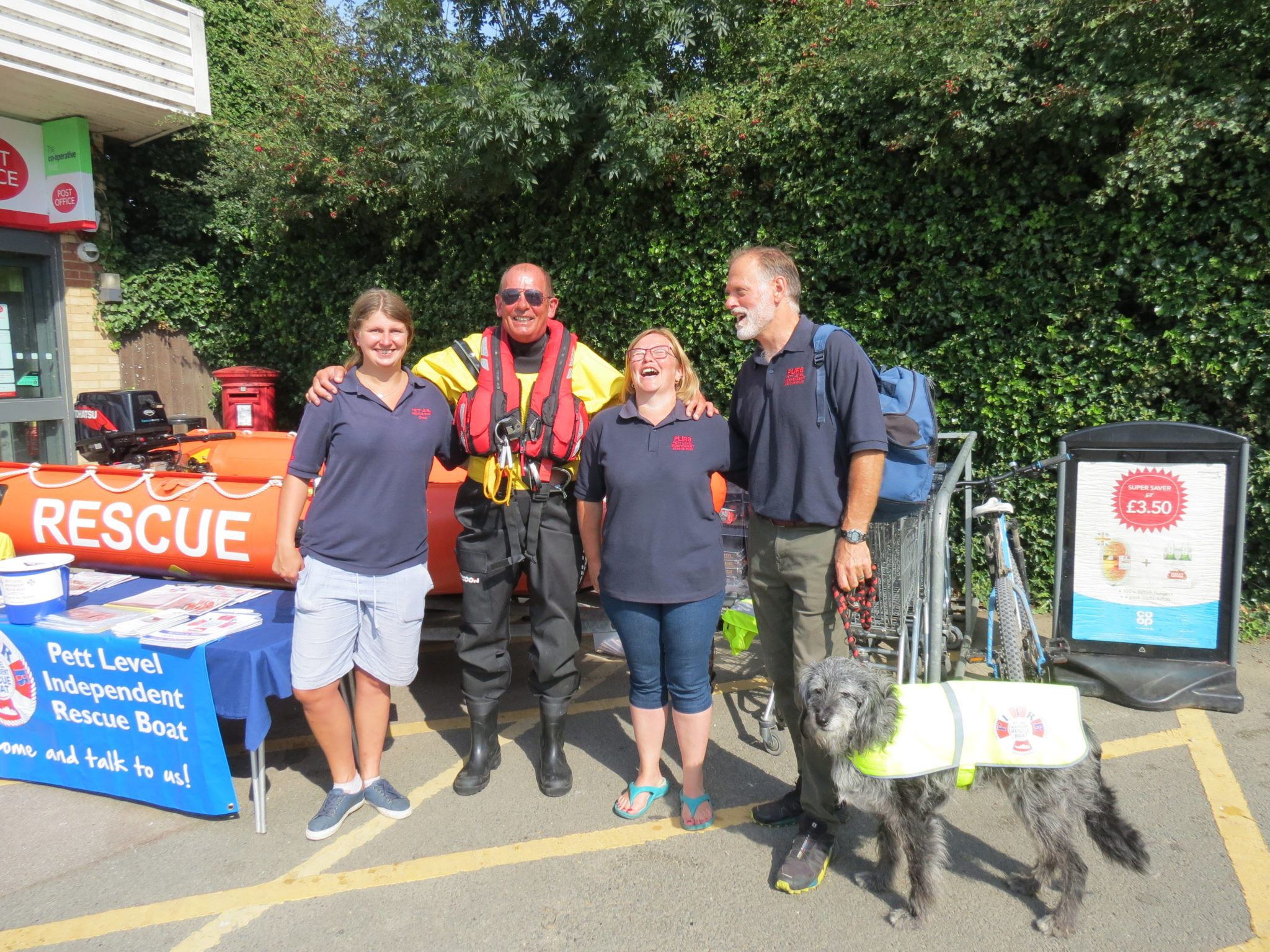 Support from the Community – Coop, Winchelsea Beach