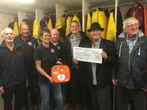 Support In ~ and From  ~ The Community For Our Defibrillator Campaign