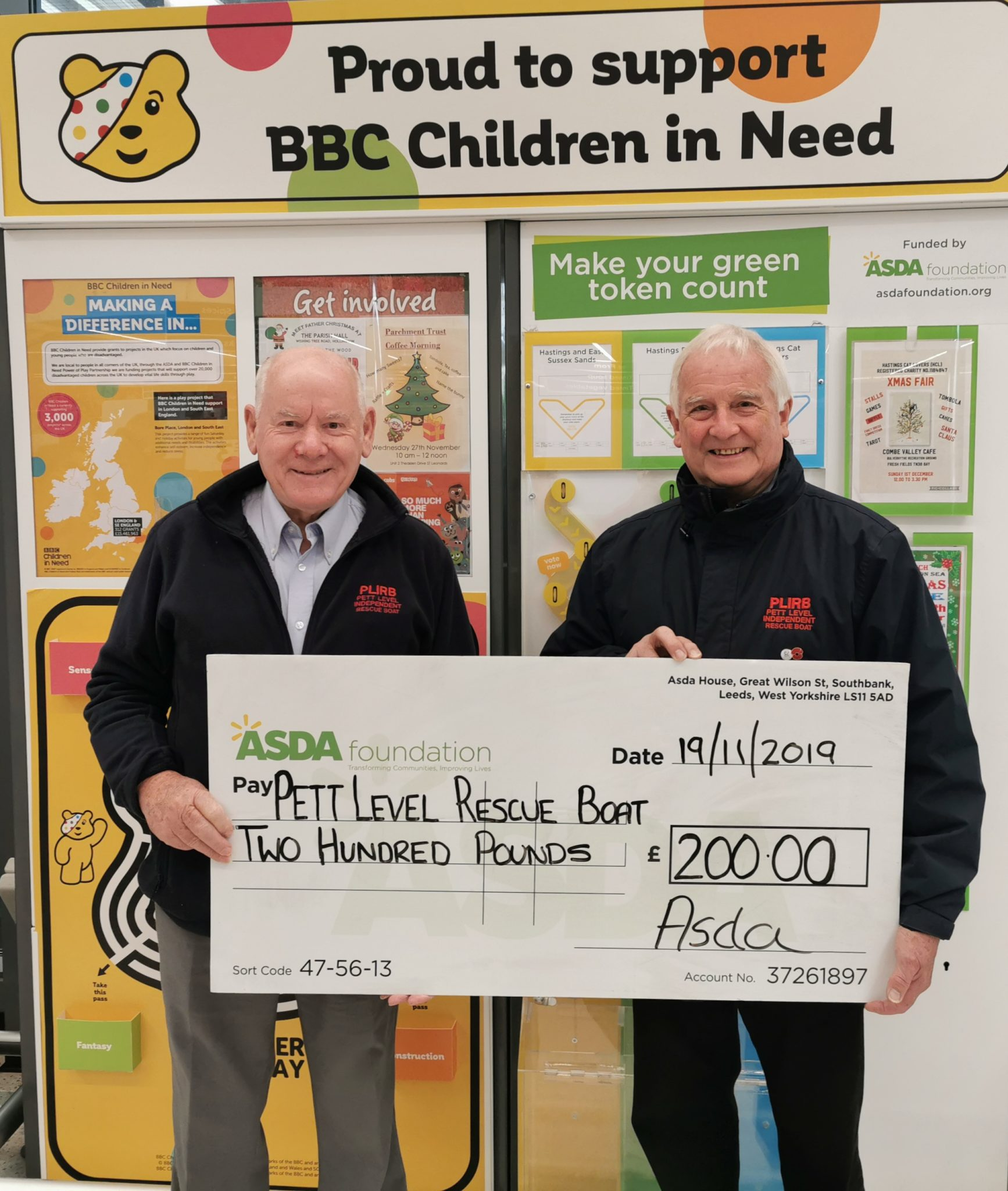 Asda St. Leonards Green Token Scheme Success