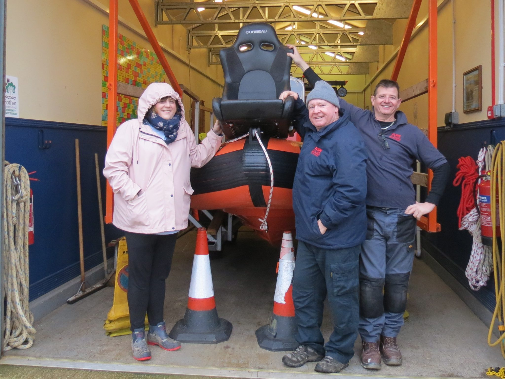Support from the Community – Thanks to Corbeau Seats UK