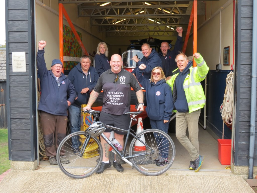 Sean Cycles 54 Miles to Support Our Charity
