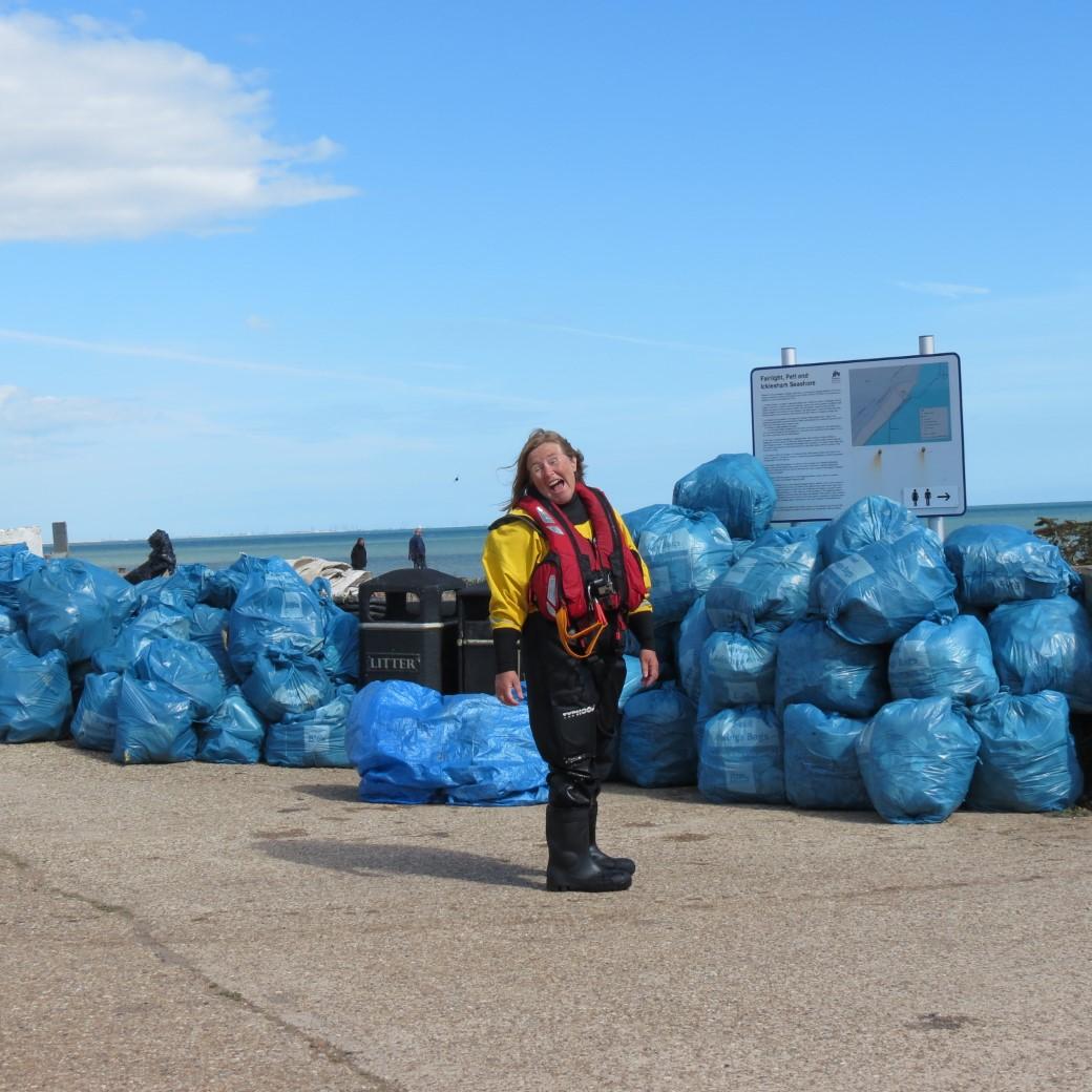 PLIRB community beach cleaning 2021