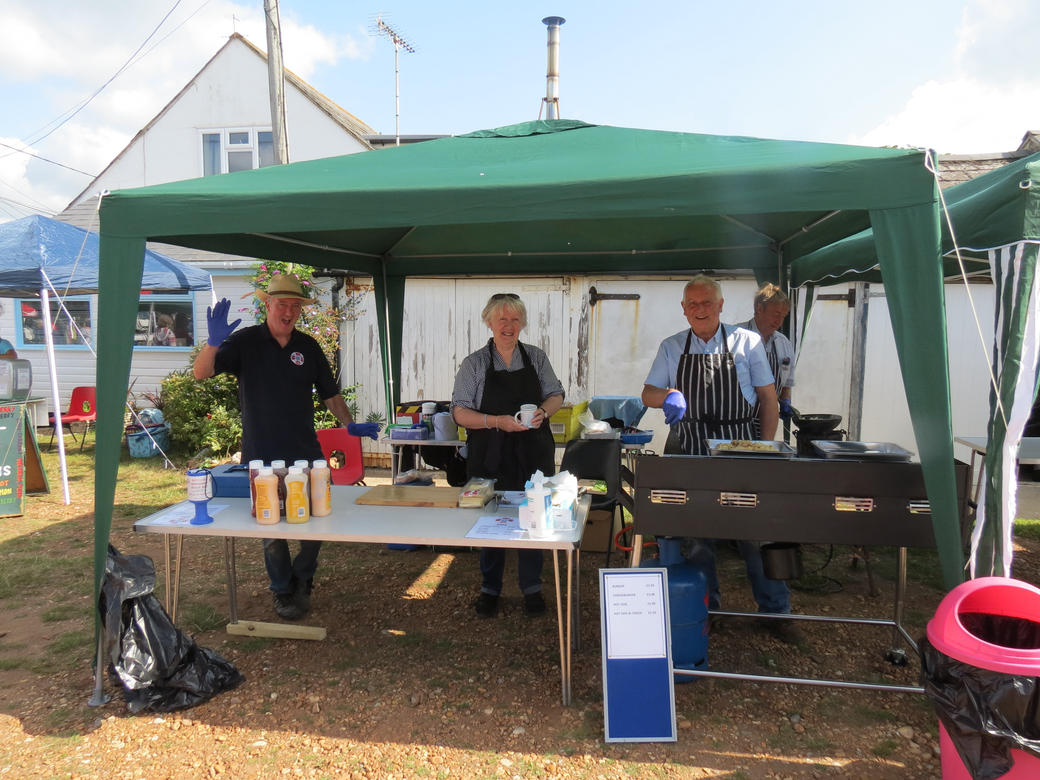 PLIRB BBQ, charity Open Day 2021