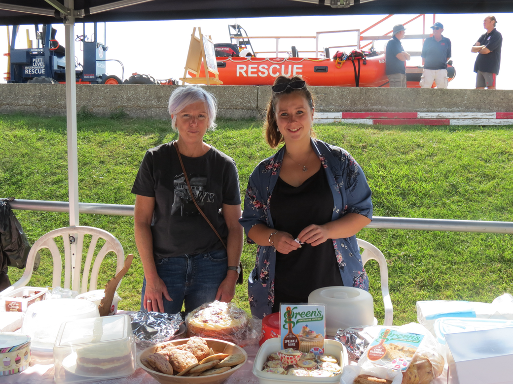cake stall, charity Open Day 2021